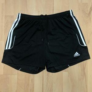 Adidas climalite size large 16/18 shorts